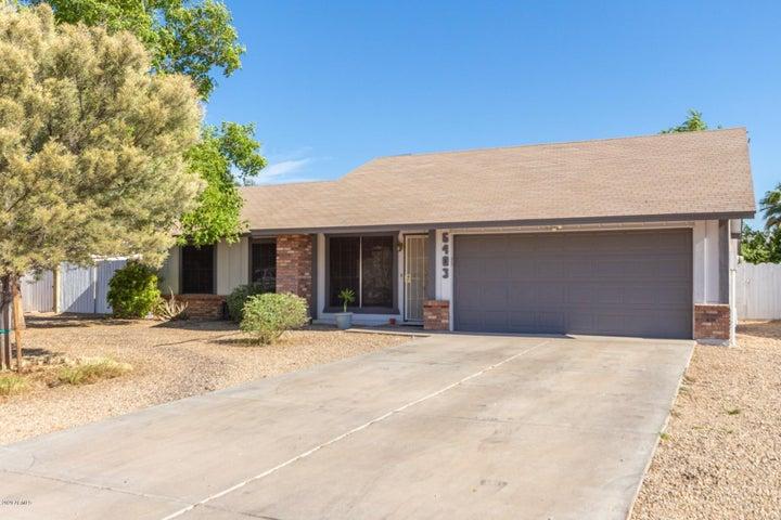 6403 W CHOLLA Street, Glendale, AZ 85304