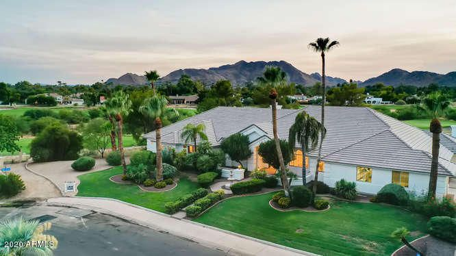Amazing Camelback Country Club Golf Course Home for sale with HUGE Views