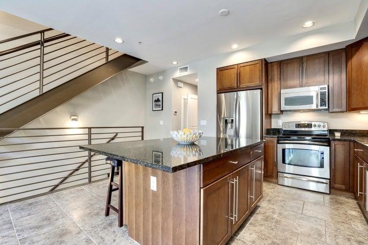 Steel. Wood. Modern. Contemporary. Open plan. Traditional kitchen design.