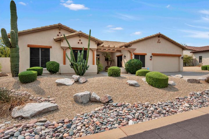 Amazingly well-maintained home in desirable and quiet Pinnacle Peak neighborhood.