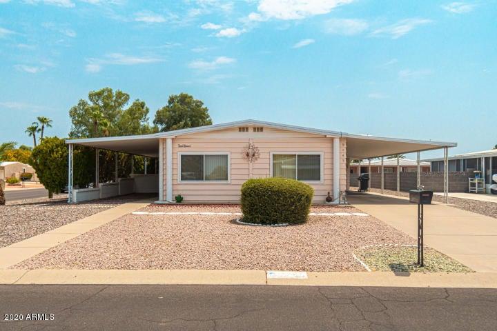 9445 E OLIVE Lane, Sun Lakes, AZ 85248