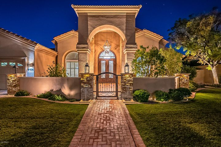 Wow, what a beautiful entry to your next home