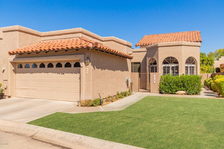 Common area to front door is cared for by HOA. Front landscape water by HOA