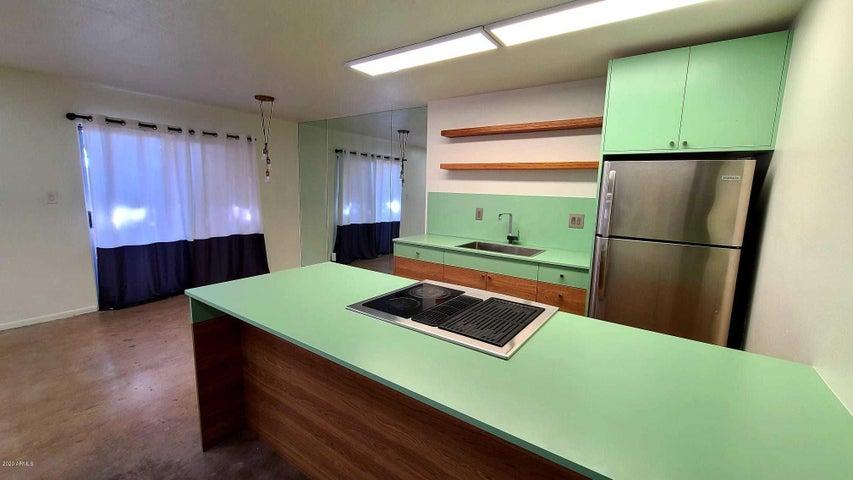 Overall kitchen area