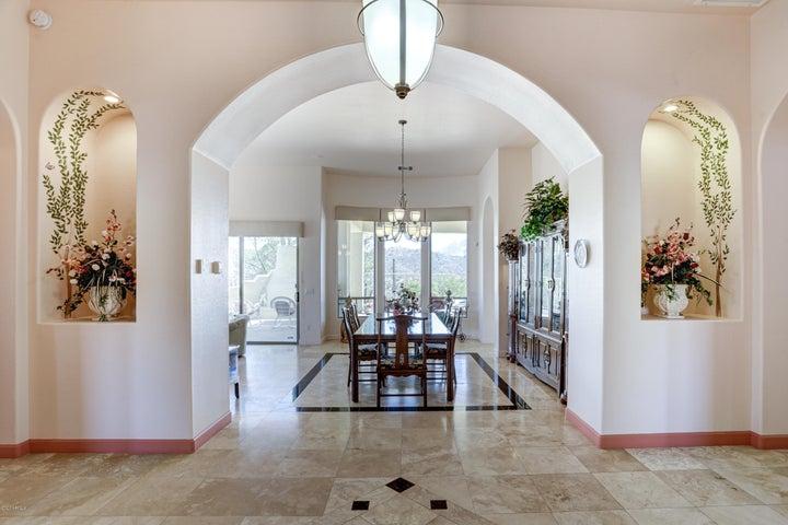 View from Front Door/foyer