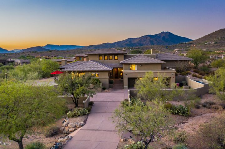 Located in the Village of Gambel Quail in Desert Mountain.