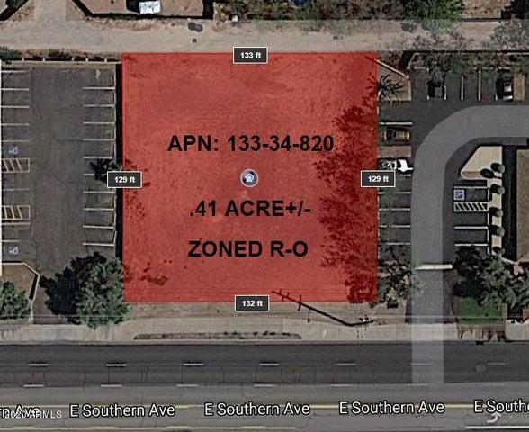 1878 E SOUTHERN Avenue, -, Tempe, AZ 85282
