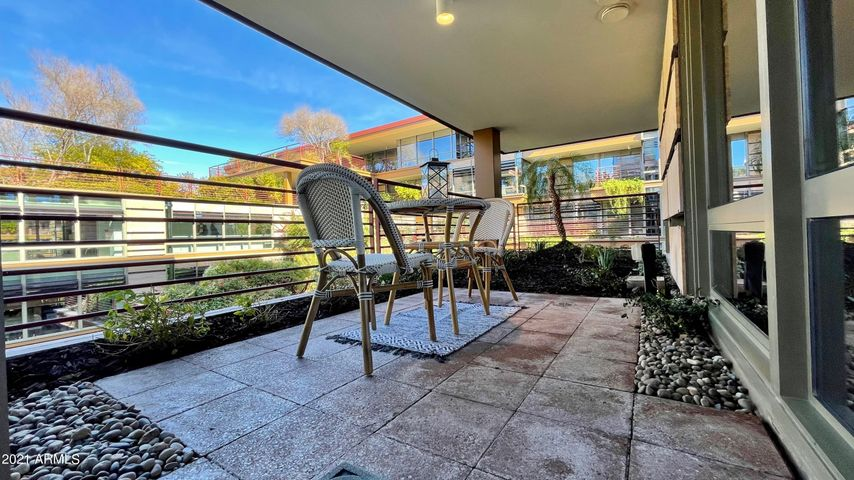 Amazing views in this park-like setting from your own private terrace- not shared with any other unit!