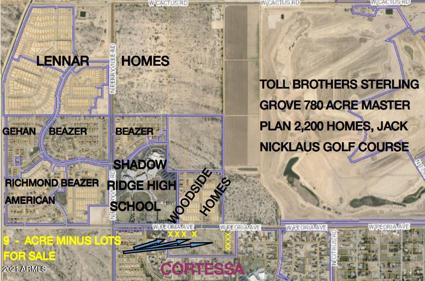 18305 Aprx W Peoria Avenue, 1-5, 11,12,13,15, Waddell, AZ 85355
