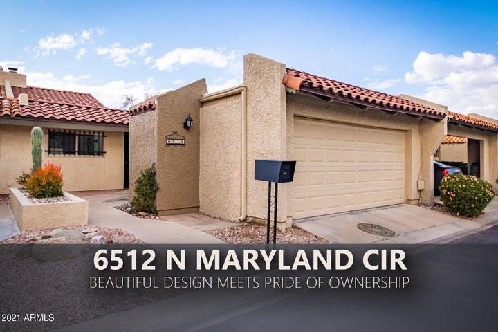 6512 N Maryland Circle, Phoenix, AZ 85013