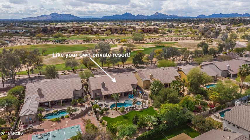 Perfect location! Wonderful amenities! Like living at your own private resort.
