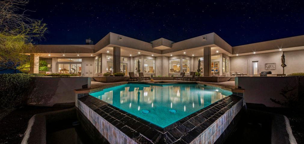 Stunning Custom Home In Troon North's Gated Community Of Talus