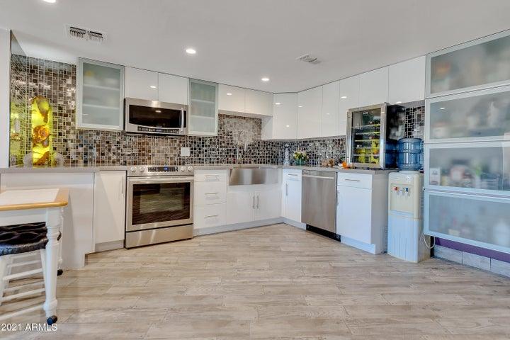 Kitchen view #1.
