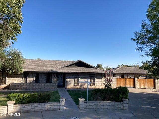 935 E LIBRA Drive, Tempe, AZ 85283