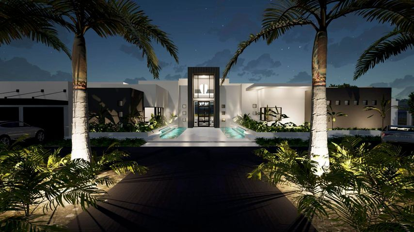 THE APPROACH IS AN EXCEPTIONAL MOTOR COURT DEFINED BY THREE WATER FEATURES AND IS SURE TO IMPRESS.