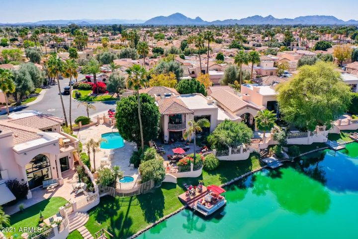 Over 3,400 SF that capitalize on the lake and mountain views.