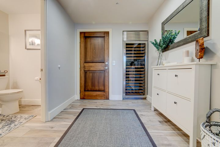Front Entry and Wine Refrigerator