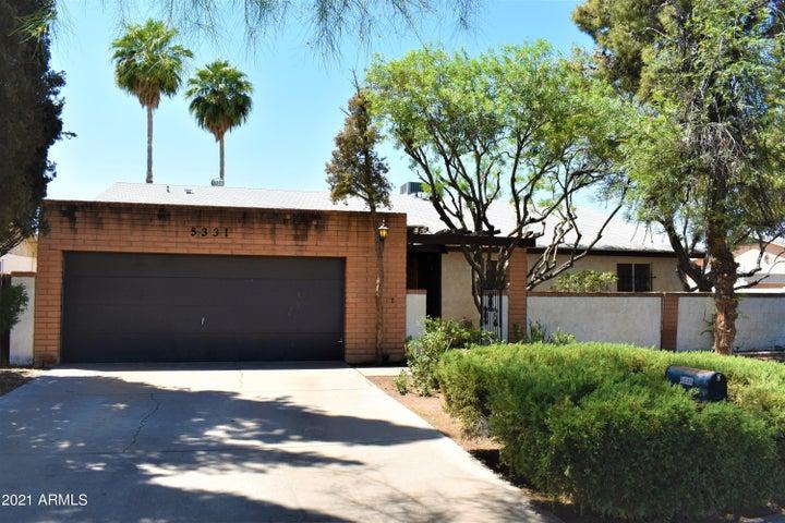 5331 W MERCER Lane, Glendale, AZ 85304