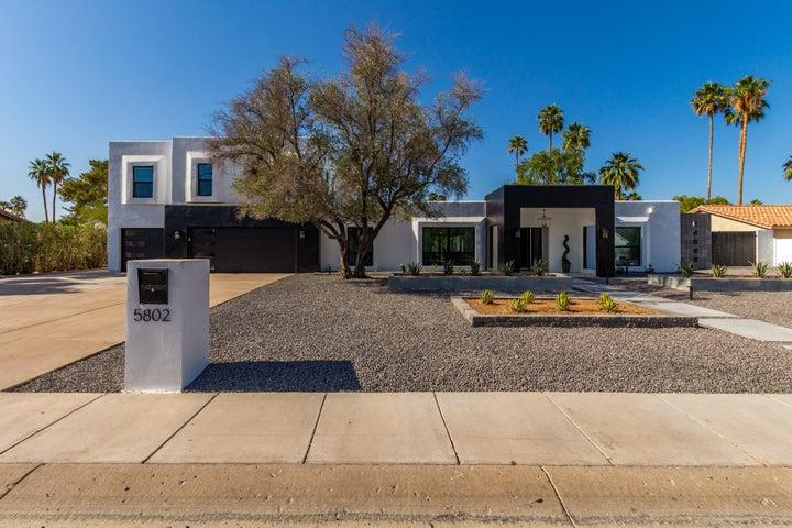 5802 E CORRINE Drive, Scottsdale, AZ 85254
