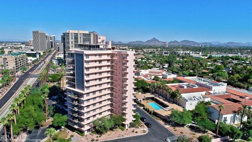 Phoenix's first luxury high-rise.