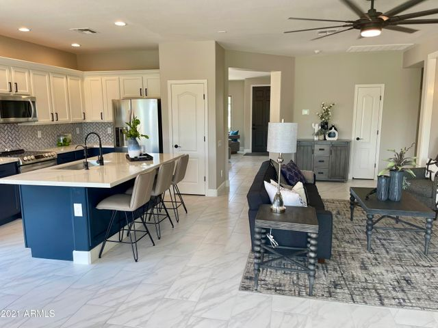 gorgeous kitchen with all new appliances