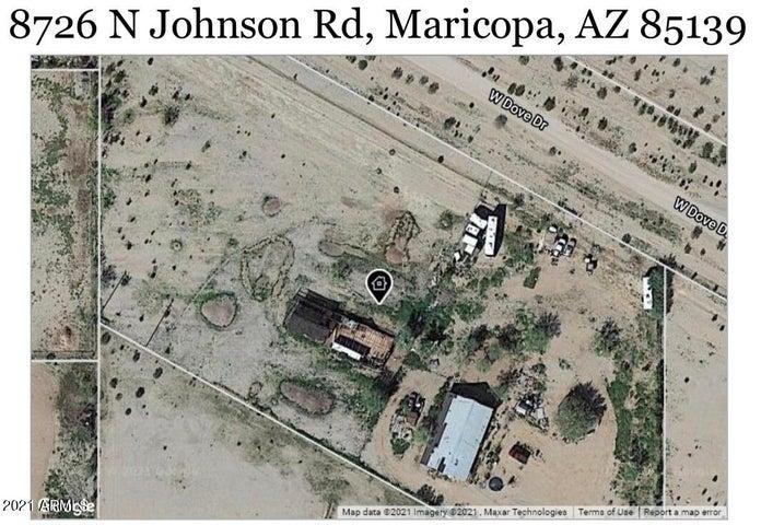 8726 N JOHNSON Road, Maricopa, AZ 85139