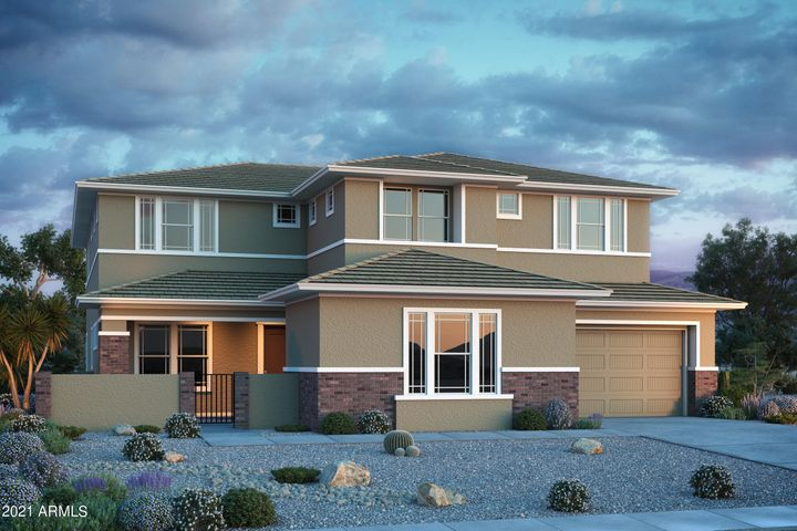 The Arcadia, Prairie Elevation. Built by Taylor Morrison, ready December! Rendering~