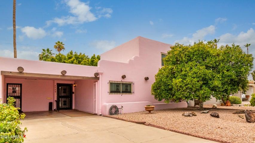 7749 E CHAPARRAL Road, Scottsdale, AZ 85250