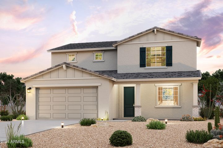 Lot 348 Inventory home Elevation C with 3 Car extended length and 12' height Garage! *photo is artist rendering, home under construction.