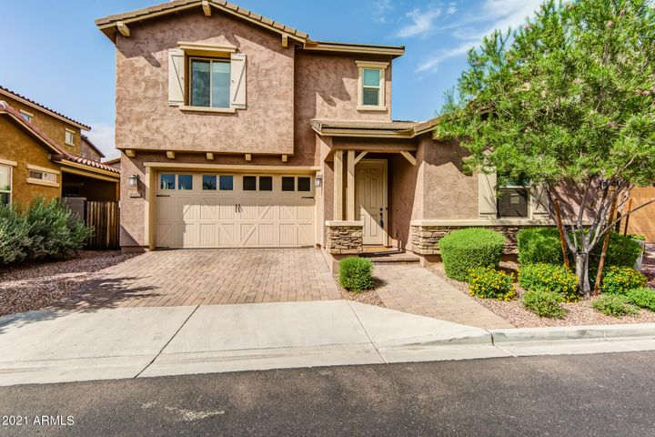 Home sits on an insulated interior lot with easy access to the community pool/center/fitness facility