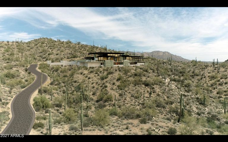Ideal location to build The Bacon House at Carefree Ranch Homesteads.