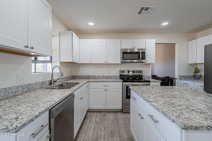 New Granite - New Appliances!
