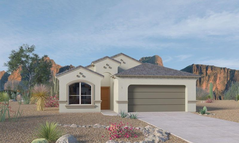 This is only a rendering; exterior color group may be different. 3 CAR GARAGE (NOT PICTURED)