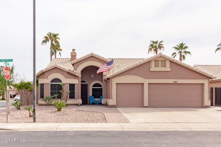 1667 W Desert Lane, Gilbert, AZ 85233