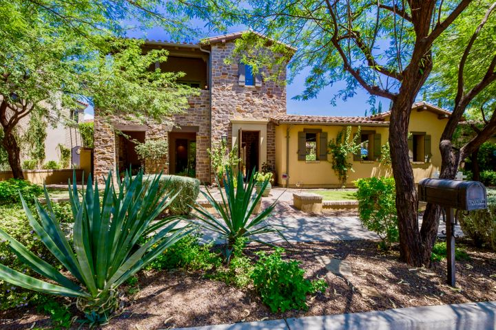 "Lovely Camelot Silverleaf home with all new (March 2017) fresh interior paint, a very secluded Owner's suite and large front courtyard with many covered patios and sparkling pool with water feature surrounded by custom pavers. Enter the home into a vast Great Room with gas fireplace, 3 huge custom chandeliers, hardwood flooring, large pocket doors opening to the pool and vaulted wood beam ceilings. Sliding glass doors also open to the private interior courtyard. The gourmet kitchen offers a large custom wall hutch, huge island with produce sink and breakfast bar, granite slab countertops, big walk-in under-the-stairs pantry, Stainless Steel appliance package with double wall ovens, dishwasher, gas cooktop with griddle and built-in microwave. <br> <br> <font size=""5"">Take the 3D Immersive tour!</strong></font> <br> <br> <div style=""width:100%;""> <iframe width='100%' height='351' src='https://dcranchhomes.com/3d-tour/20717-n-101st-st-scottsdale-az-85255/fullscreen/?embedded' frameborder='0' allowfullscreen='allowfullscreen'></iframe> </div>  <br> <br> <font size=""5"">Take the 3D Immersive tour!</strong></font> <br> <br> <div style=""width:100%;""> <iframe width='100%' height='351' src='https://dcranchhomes.com/3d-tour/20717-north-101st-street-scottsdale-az-85255/fullscreen/?embedded' frameborder='0' allowfullscreen='allowfullscreen'></iframe> </div>"