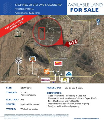 Map Of Loop 303 Arizona.0 N 31st Avenue Home For Sale Phoenix Az Mls 5884972