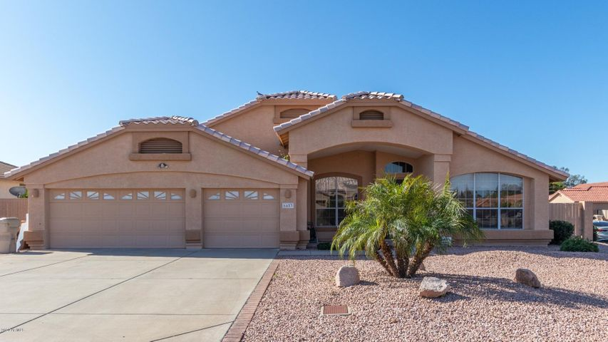 Hard to find Single Level home with NO HOA! Kitchen open to great room with fireplace! Extra spacious master suite, large secondary bedrooms, generously sized bathrooms. Open kitchen/family room with fireplace brings in the cozy feeling for chilly days. Step outside to a covered patio and sparkling diving pool- ready & refreshing for those long hot summer days - a perfect place to splash & enjoy! Bring your toys! RV gate and parking!