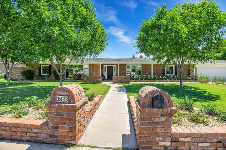 Welcome home to the most charming large rental home in the heart of Arcadia available today! New AC's, Paint, carpet! Four bedrooms, three baths, plus formal living and dining rooms, plus generously sized great room with walk-in bar that wraps from great room to the kitchen. Breakfast room overlooks the lush yard with fenced pool, built-in BBQ and firepit. Fourth bedroom and third bath are split for a great mother-in-law or older teen. Master Bedroom is huge with a sitting area and lavish bath plus totally custom walk-in closet. There is not another rental home on the market in Arcadia today with such abundant quality and charm as can be found here.