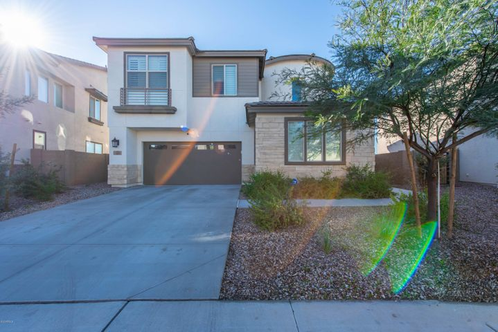 Beautiful 4 bedroom home in gated community. Plenty of room for you and the family. Personal touches galore with one of a kind chandeliers. Backyard is ready for your personal touches.