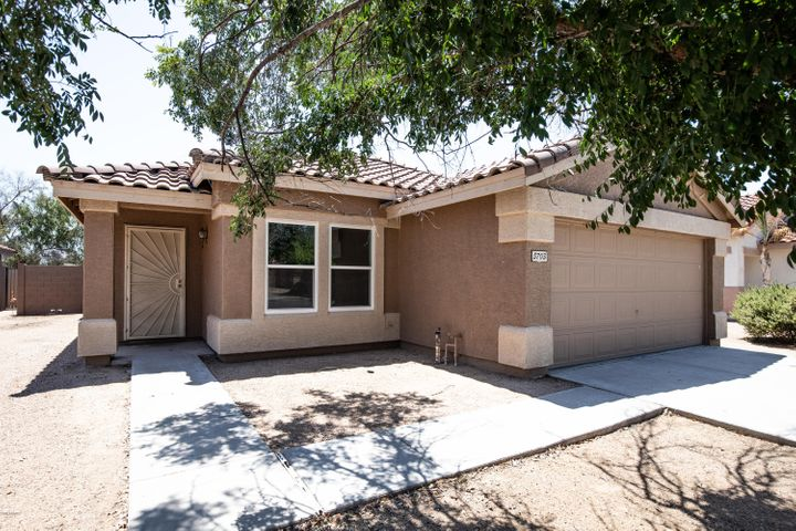 Come see this beautiful home that's just minutes away from the Superstition Mall and Dana Park. The kitchen features new slate appliances, a kitchen island, and a walk-in pantry. All 3 bedrooms are down a separate hallway to provide ample privacy from the main living areas. The backyard provides a perfect entertaining space with a custom pool and waterfall, built-in grill, fire pit, a covered patio, and synthetic grass for low maintenance. There has also been numerous upgrades throughout, including: new HVAC, new water heater, and new dual-pane windows making this home significantly more energy efficient. Don't wait, schedule your showing today!