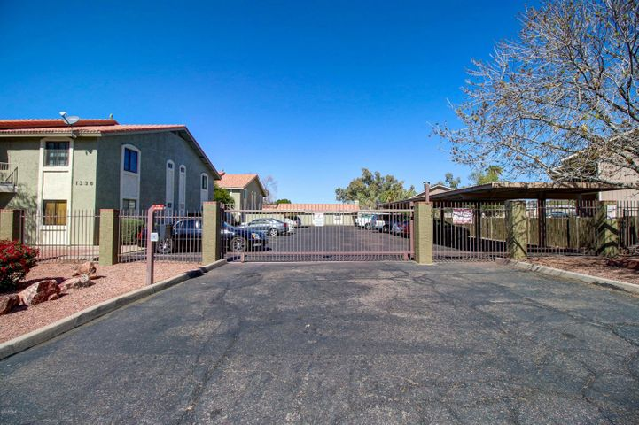 Great Investor or end-user opportunity in this quiet 18 unit complex.  2/2 in a detached building adjacent to the community pool.  One covered parking space is included.Gated parking and community entrance.No SPDS or CLUE as seller has never occupied the unit. No conventional, FHA or VA financing.