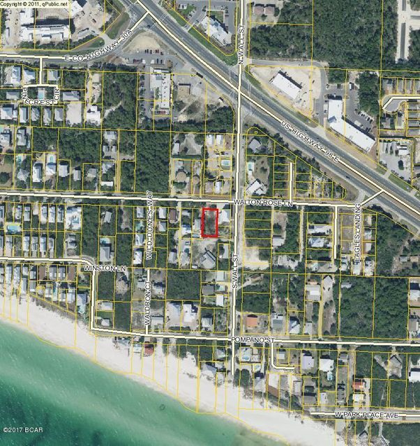 Photo of 197 WALTON ROSE Lane Inlet Beach FL 32413