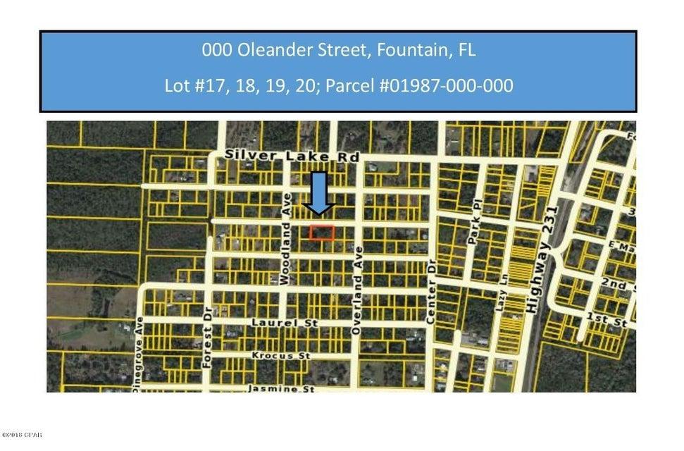 Photo of 0 OLEANDER Street, LOTS 17,18,19,20 Fountain FL 32438