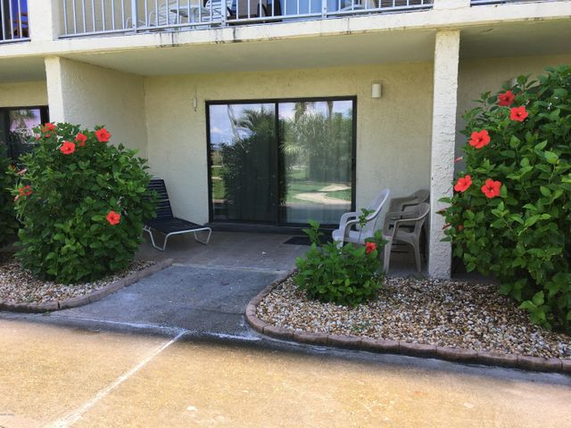 Ground floor condo patio with easy and quick access to the pool, beach, and all the amenities offered at The Summit