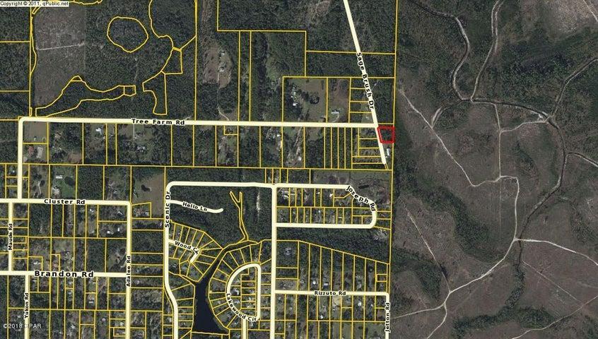 Plat Map, Lot 11 Sage Brush, Youngstown, FL