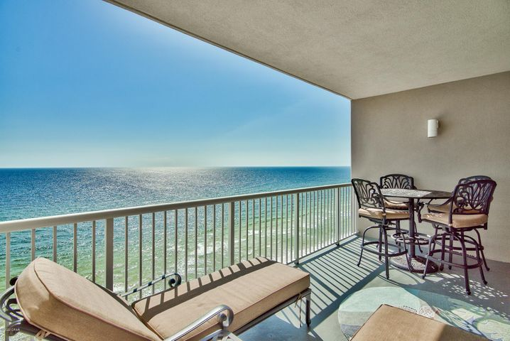 The private balcony is perfect for relaxing while listening to the serene sound of waves rolling onto shore. Incredible sunsets can be seen from here!