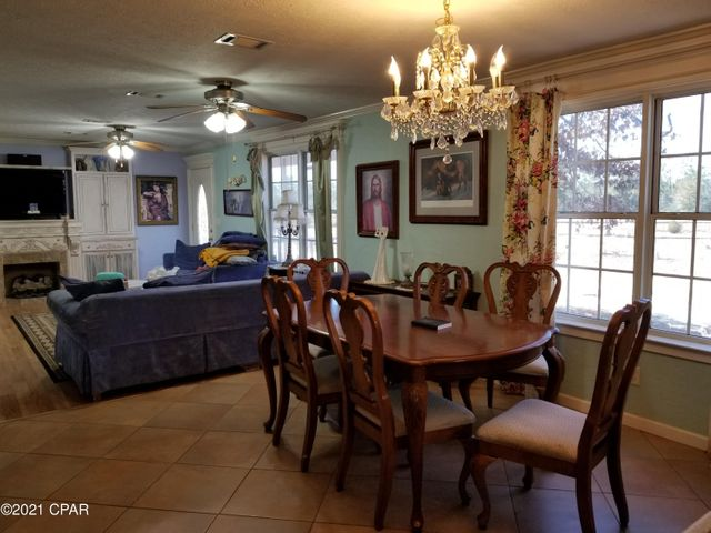 This is a view of inside the home to show the open floor plan.