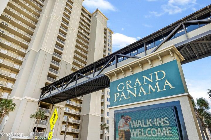 Popular vacation destination spot on Panama City Beach