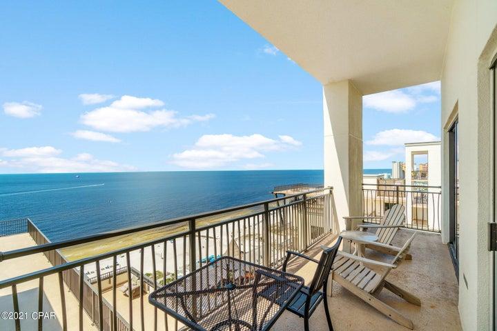 First Gulf Facing Balcony View