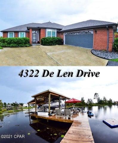 4322 De Len Drive, Panama City, FL 32404